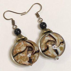 Beautiful Lampwork Glass Earrings